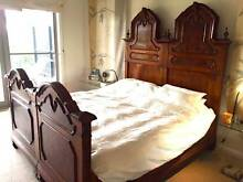 King size European Antique bed- Mattress not included Longueville Lane Cove Area Preview