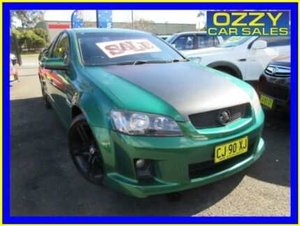 2010 Holden Commodore VE II SV6 Green 6 Speed Automatic Utility