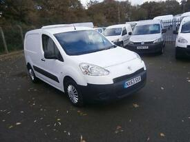 Peugeot Partner L1 850 S 1.6 HDI 92bhp Van DIESEL MANUAL WHITE (2013)
