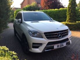 Mercedes ML 350 AMG sport auto 2013 one owner fsh lovely car,p-ex welcome,aa/rac welcome
