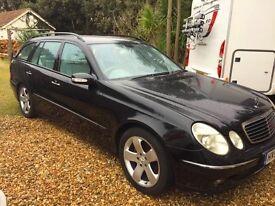 Mercedes E320 CDI Avantegarde Estate 2004. Only 1 previous owner. 144k miles. Full Service History.