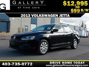 2013 Volkswagen Jetta 2.0L $99 bi-weekly APPLY NOW DRIVE NOW