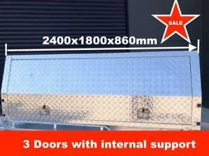 UTE CANOPY 2400X1800X860 MM, THREE DOORS
