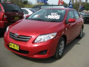 2007 Toyota Corolla ZRE152R Ascent Red 4 Speed Automatic Hatchback Camden Camden Area Preview