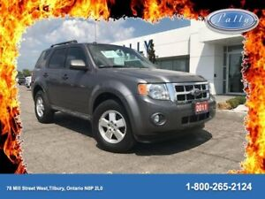 2011 Ford Escape XLT, One Owner, 2.5 4 cyl, Local Trade!!