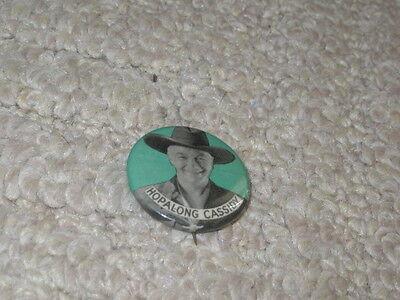 Hopalong Cassidy Pin Back Buttons in Green