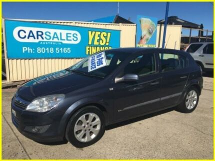 2008 Holden Astra AH MY08.5 60th Anniversary Grey 4 Speed Automatic Hatchback