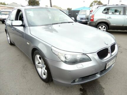 2005 BMW 530i E60 Steptronic Silbergrau 6 Speed Sports Automatic Sedan Enfield Port Adelaide Area Preview