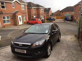 2009 PRIVATE FORD FOCUS WITH 64000 MILES MOT TILL MARCH 2018