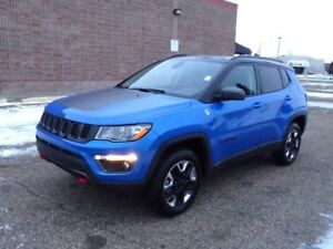 2018 Jeep Compass 4WD TRAILHAWK Leather,  Heated Seats,  Sunroof