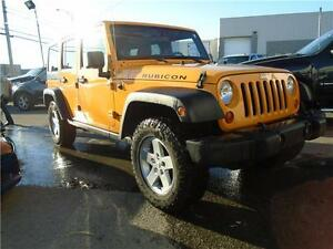 2012 Jeep WRANGLER UNLIMITED Rubicon Cuir Deux Toit