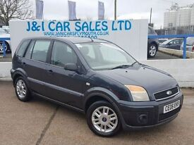 FORD FUSION 1.4 ZETEC CLIMATE 5d 78 BHP A LOW PRICE 5DR HATCHB (grey) 2006