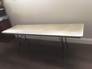 "8 Foot Folding Table 30"" wide"