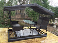REDUCED! Large Four Seater Garden Swing