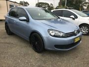 2010 Volkswagen Golf VI MY10 118TSI Comfortline Blue 7 SPORTS AUTOMATIC DUAL CLUTCH Hatchback Penrith Penrith Area Preview