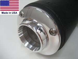 HONDA RINCON FOURTRAX - 2D MUFFLER EXHAUST POWER TIP w/ SPARK ARRESTOR SCREEN