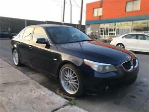 2004 BMW  530i  AUTOMATIQUE  AIR CLIMATISER   BONNE CONDITION