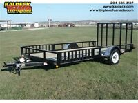 H&H SH SINGLE AXLE ATV HEAVY FRAME FLATBED