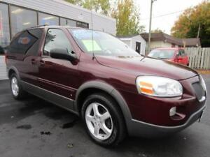 2009 PONTIAC MONTANA SV6 * ONE OWNER * CLEAN CAR PROOF * LOADED
