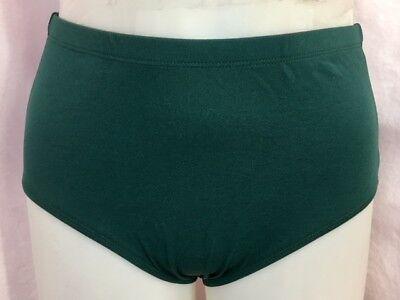 Body Wrappers Jubeln Athletik Unterwäsche, Waldgrün, Erwachsenengröße Klein