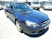 2004 Subaru Liberty B4 MY04 AWD Blue 4 Speed Sports Automatic Sedan Enfield Port Adelaide Area Preview