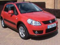 SUZUKI 1.6 SX4 5 DR RED 1 YRS MOT 11 SERVICE STAMPS,CLICK ON VIDEO LINK TO SEE AND HEAR MORE DETAILS
