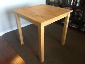 IKEA table with two chairs  London Ontario image 1