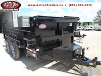 7 TON DUMP TRAILER -WITH THE MOST STANDARD FEATURES $7694