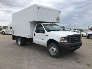 2003 Ford F600, Used Dry Van