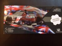Silverstone Formula 1 Grand Prix Drivers' Lounge Ticket x 2 with free Premier Inn Hotel Stay
