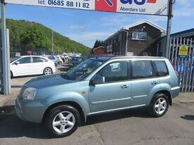 Nissan X-Trail SVE TD 5d 113 BHP very well cared for (grey) 2003