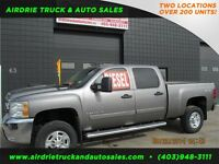 2008 Chevrolet Silverado 2500HD LT 4X4 Crew Cab 6.5ft Box Diesel