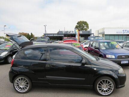 2005 Holden Barina Black 5 Speed Manual Hatchback
