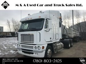 2007 FREIGHTLINER ARGOSY CAB OVER SLEEPER, FINANCING AVAILABLE