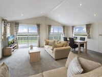 Beautiful Luxury Lodge with panoramic views of the Solway Coast @ Southerness, Glasgow, Edinburgh,