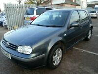 VW GOLF 1.9 TDI PD REG MATCH 12 MONTHS MOT 5DR HATCHBACK