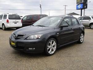2008 MAZDA 3 GT, HEATED SEATS, SUNROOF, WARRANTY&SAFETY $5,450