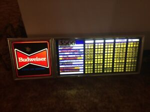 Beer Signs Beer Bottles  Bar Man Cave items Collectibles