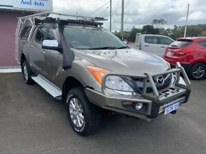 2013 Mazda BT-50 GT Automatic Ute Mira Mar Albany Area Preview