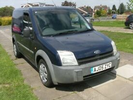 2005 FORD TRANSIT CONNECT L200 TD SWB BLUE 12 MONTH M.O.T.
