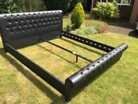 Brand new super king 6ft double luxury faux leather bed