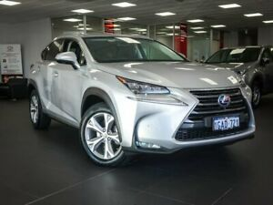 2016 Lexus NX AYZ15R NX300h E-CVT AWD Sports Luxury Silver 6 Speed Constant Variable Wagon Hybrid Bellevue Swan Area Preview