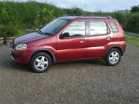 SUZUKI IGNIS AUTOMATIC 2002 LOW MILEAGE ls only 45432mls VGC cheap to run and ideal for learners