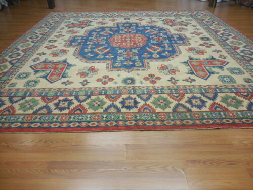 Super Fine Ve Dy Persian Turkish Kazak Serapi Heriz 13x13.2 Caucasian Rug
