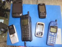 Collection of mobile phones - in St Albans