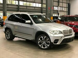 2011 BMW X5 E70 xDrive50i Sport Wagon 5dr Steptronic 8sp 4x4 4.4TT [MY11 Silver Sports Automatic