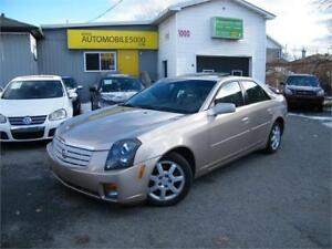 2006 Cadillac CTS. CUIR . TOIT OUVRANT .