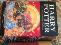 Harry potter 2 Hardback first edition books