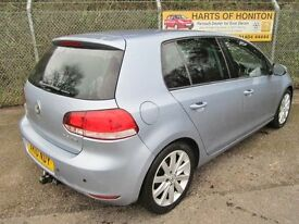 Volkswagen Golf 2.0 GT TDi 140 Turbo Diesel 5DR (georgia blue) 2010