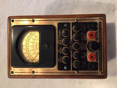 Vintage Volt-ohmmeter Precision Apparatus Co